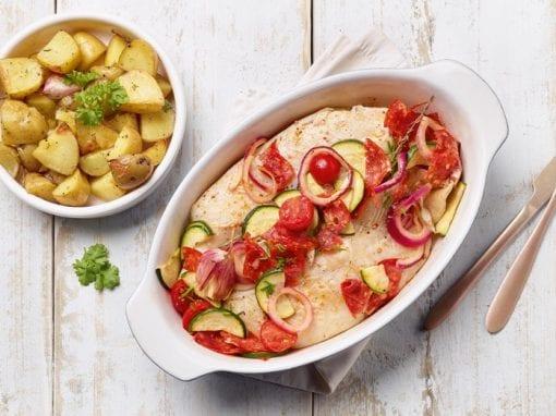 Pangasius-fillet-with-baked-chorizo