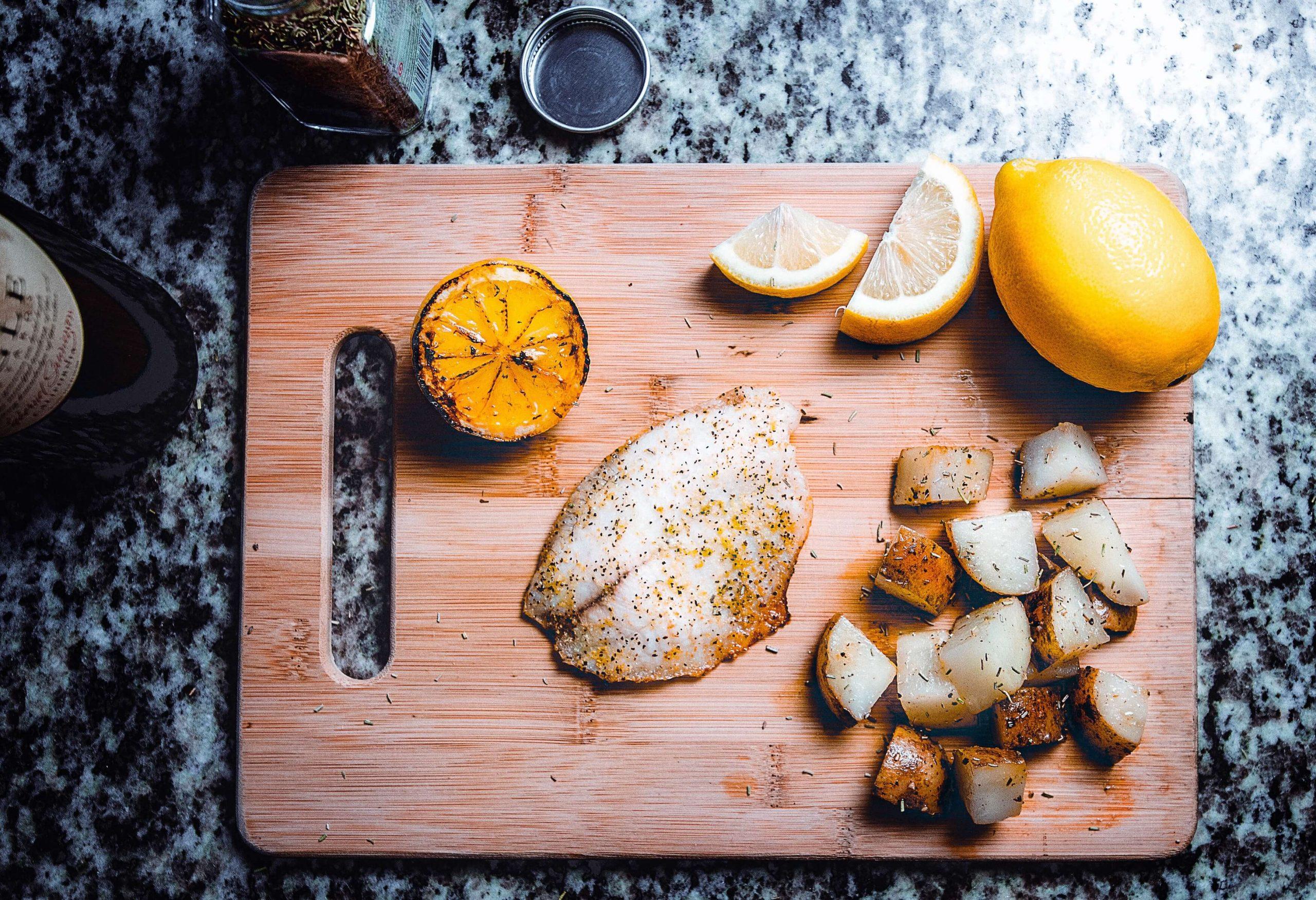 Lemon glazed pangasius –Your everyday fish