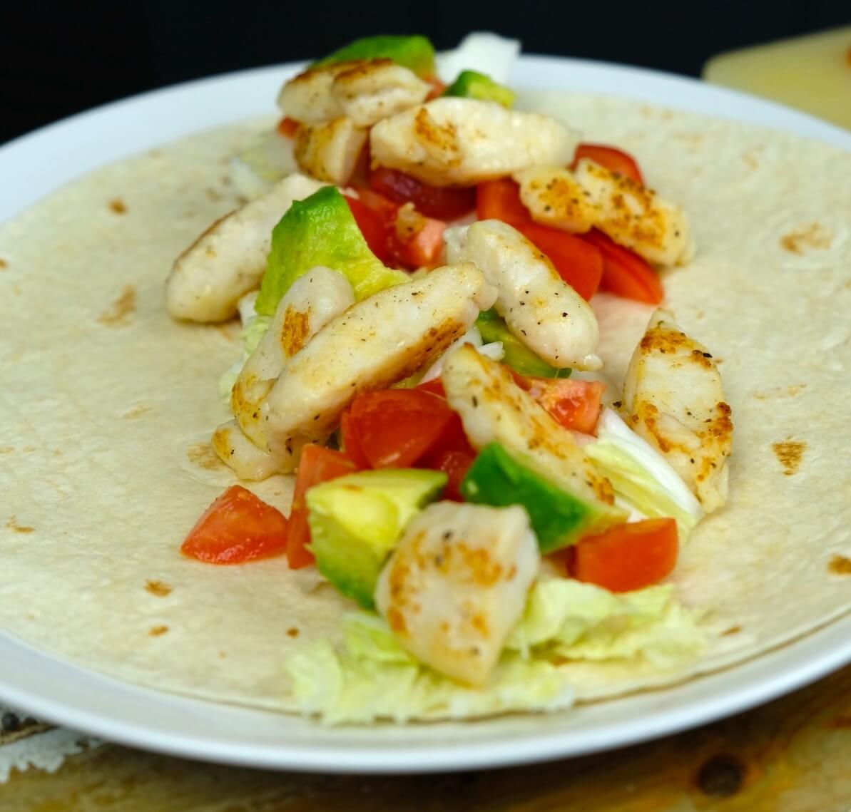 Fish tortilla with pangasius - Your everyday fish