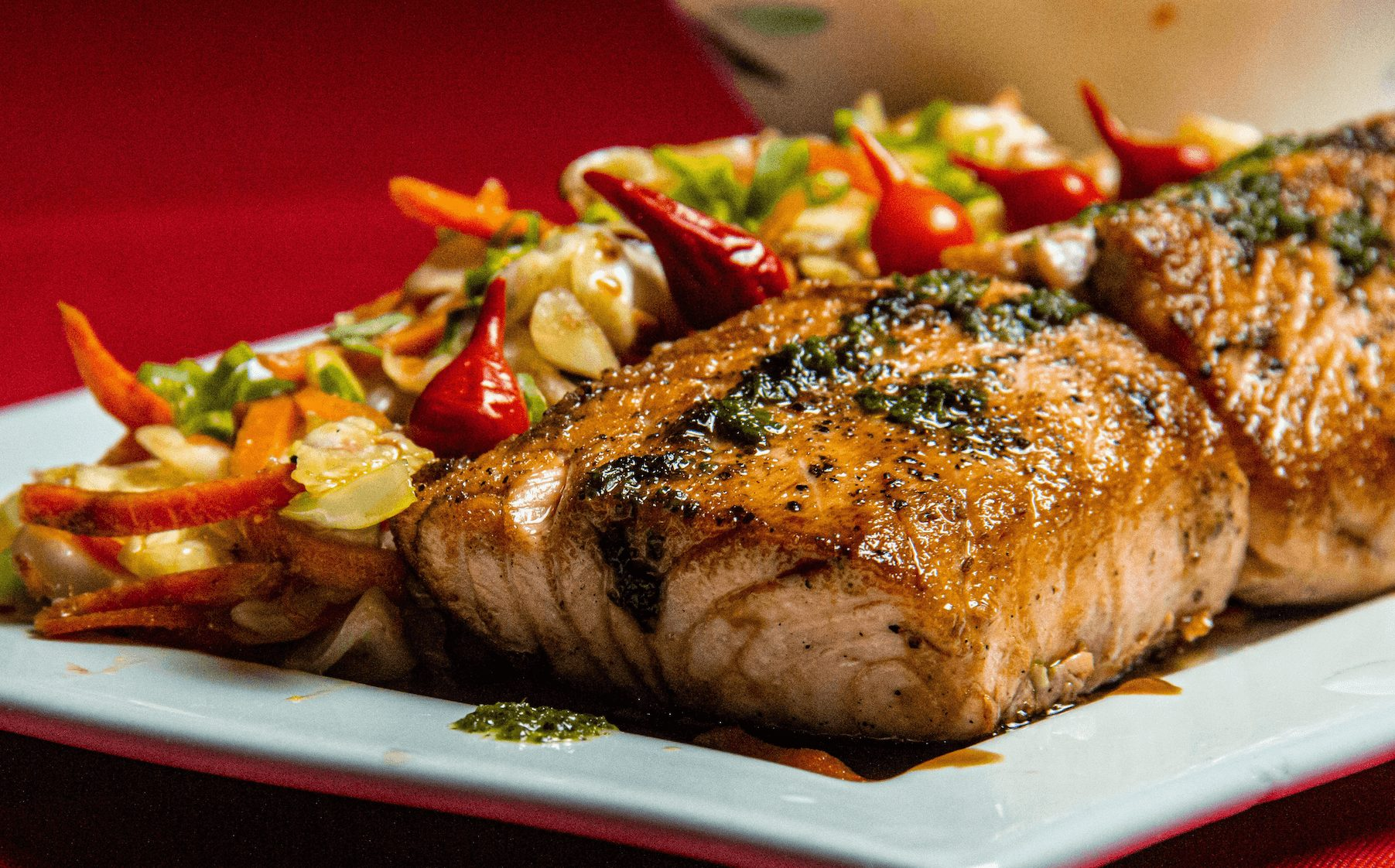 Pangasius with vegetables – Your everyday fish