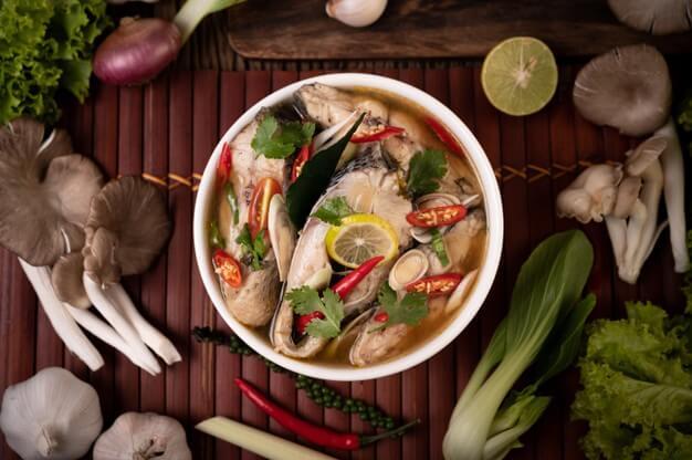 Tamarind pangasius soup - Your everyday fish