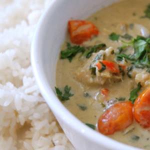 Recipe for Thai Pangasius Curry