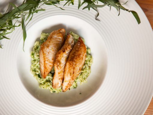 Pangasius Green herbs Risotto – Your everyday fish