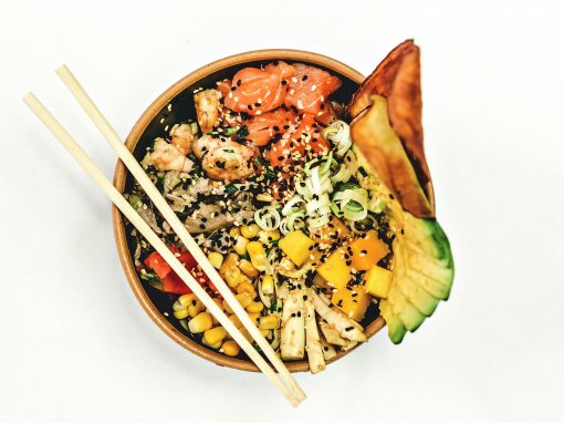 Poke bowl with pangasius - Your everyday fish